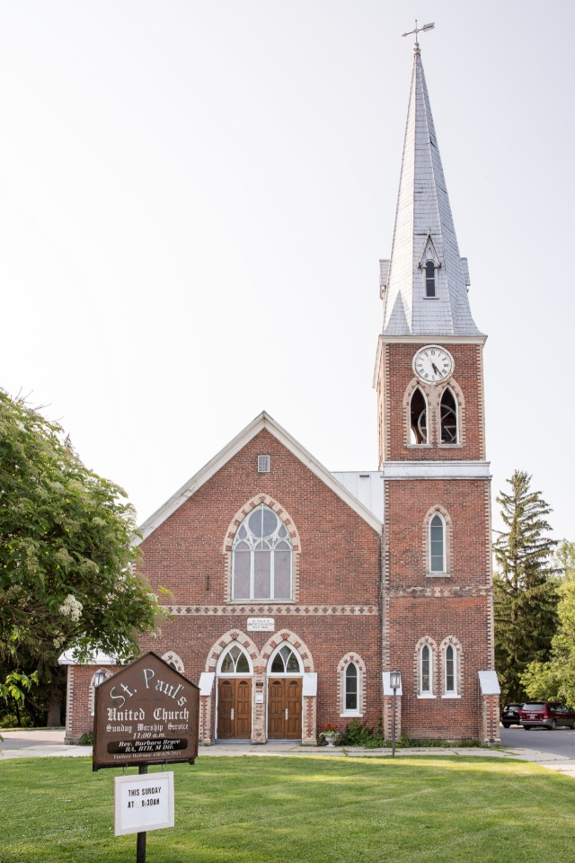 Family tradition on the brides side to be married at this church