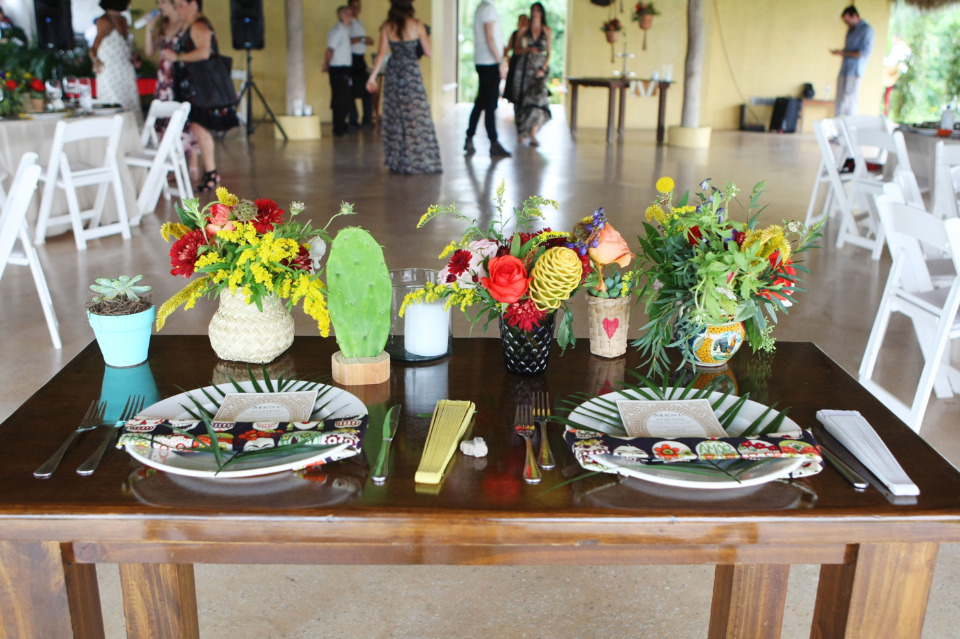 colorful sweetheart table ideas