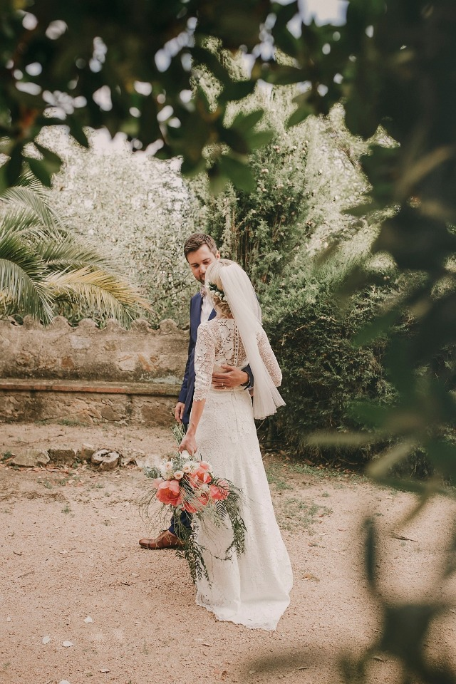 Outdoor Costa Brava wedding