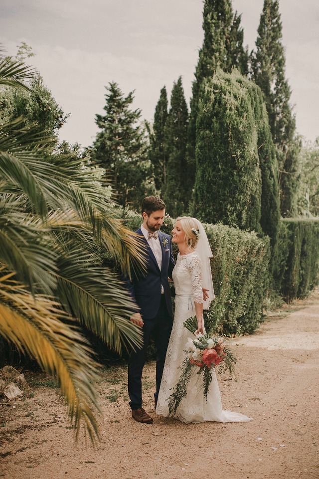 English styled wedding in Costa Brava