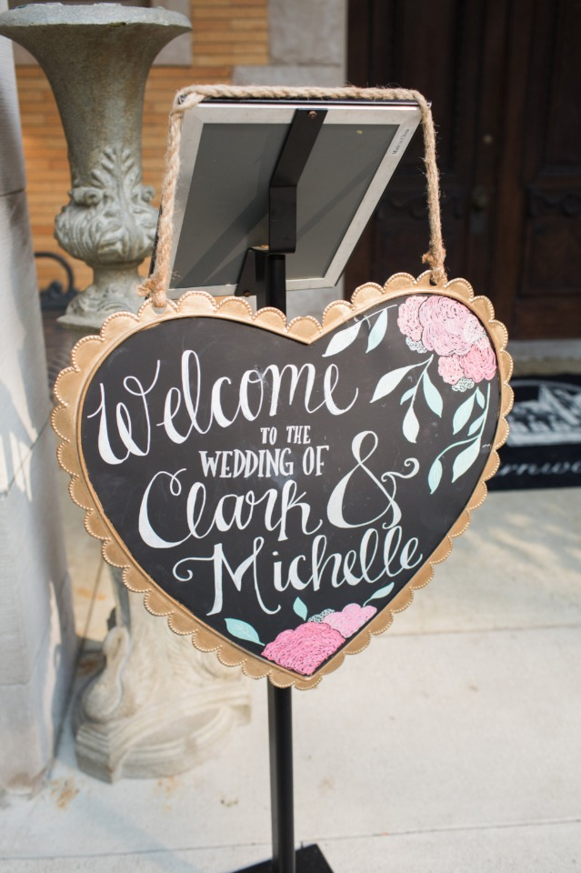 Wedding sign idea