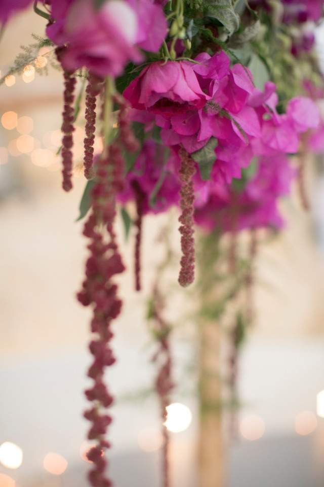 hanging flower decor