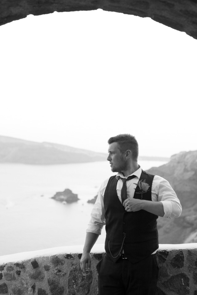 groom in greece