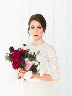 This Is What Happens When You Say Yes To A Winter Wedding, Gorgeous!