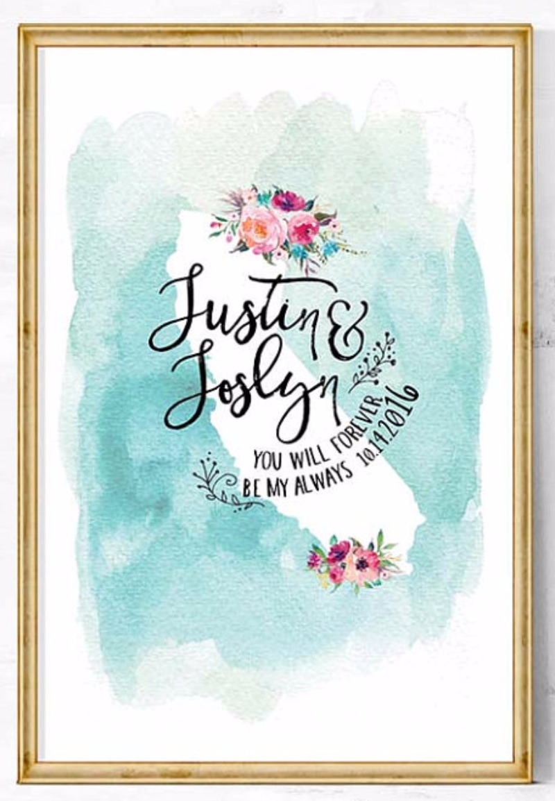 Inspiration Image from Etsy