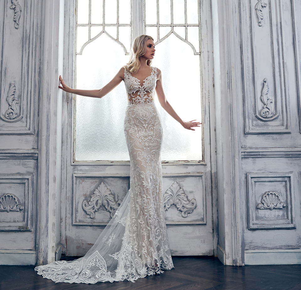 What Will The Name Of Your Flawless Calla Blanche Wedding Gown Be?