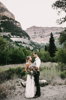 This Geode Boho Mountain Wedding Will Totally Rock Your Socks Off