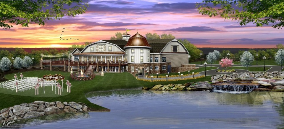 Newly renovated venue, Bear Brook Valley