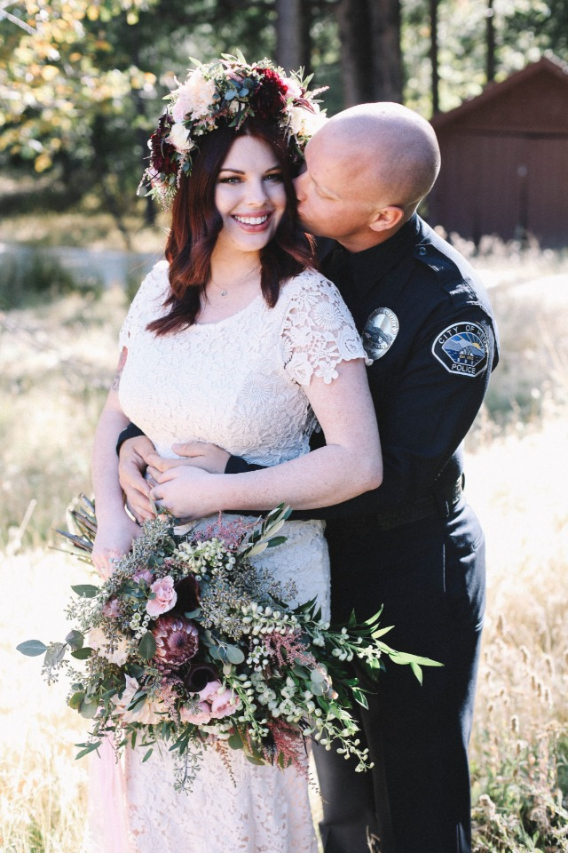 This adorable couple celebrated their first anniversary in style