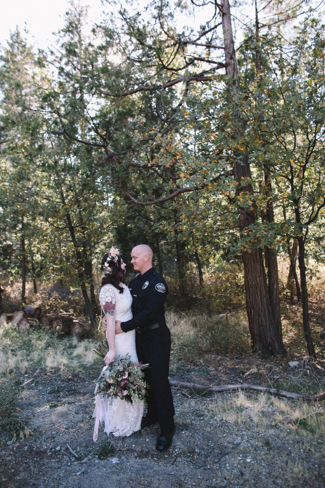 First anniversary shoot in the mountains