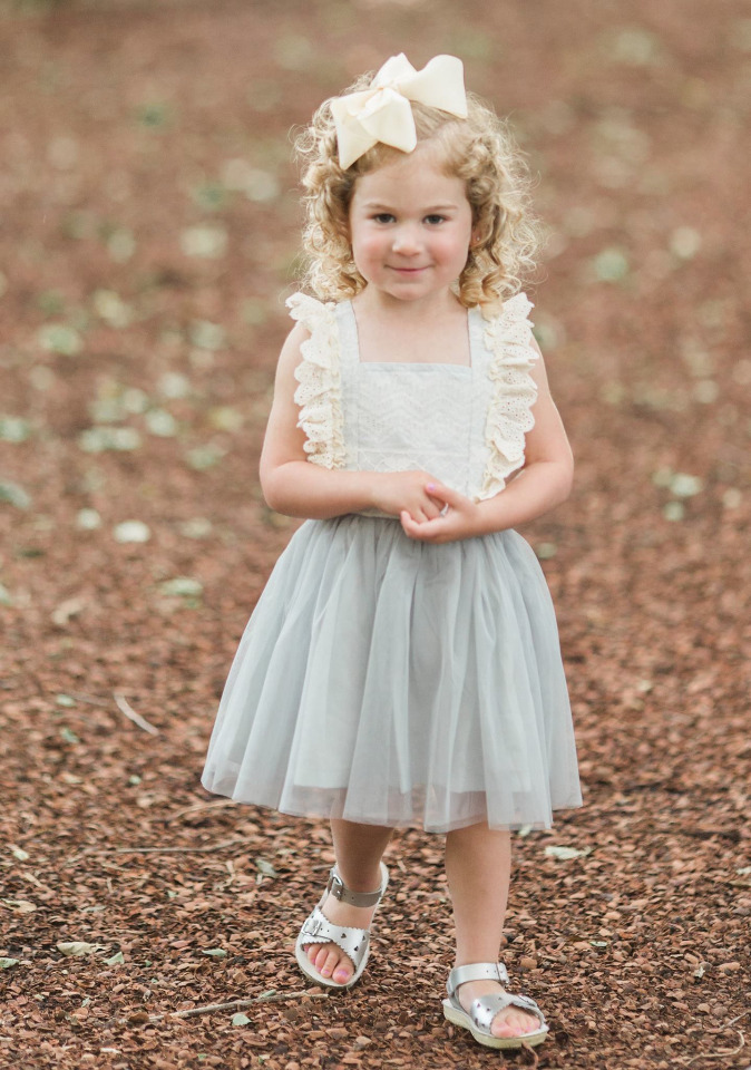 darling little flower girl outfit