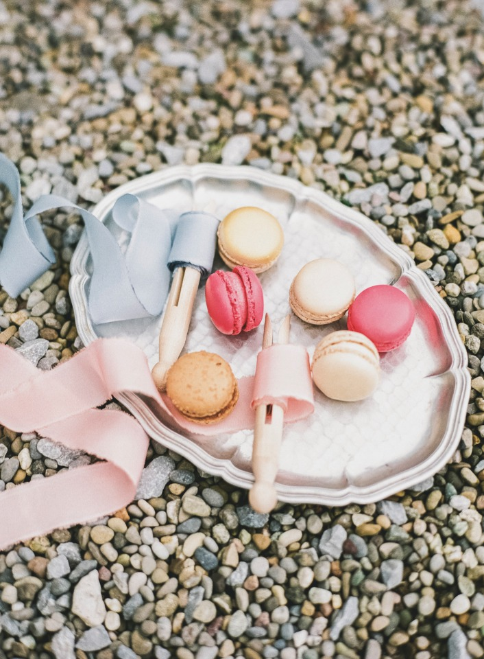 celebrate with some macarons