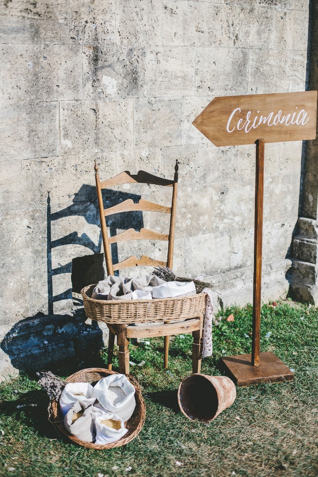 """dried lavender confetti station for after the """"i do"""""""