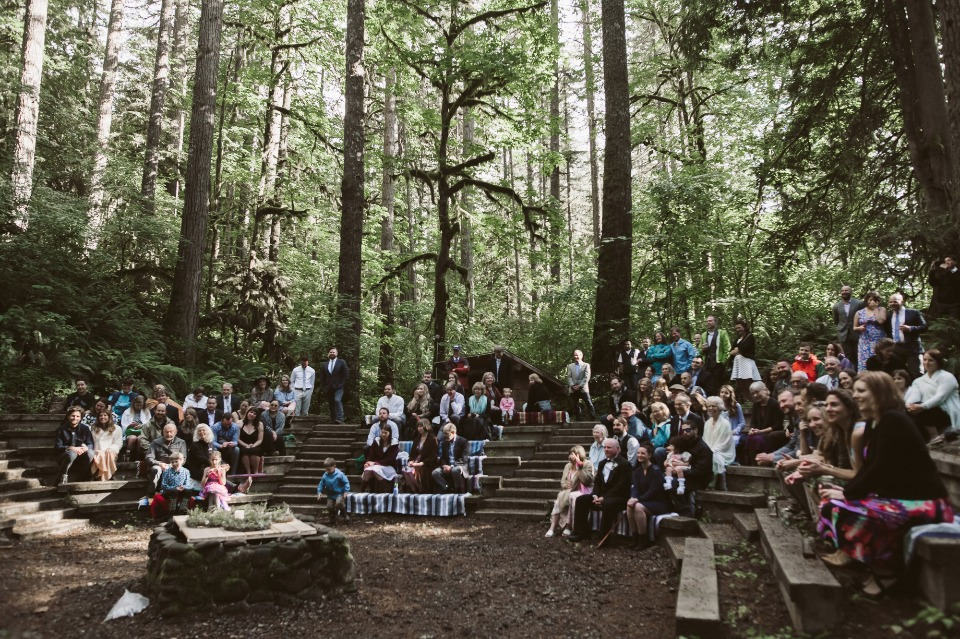 Weekend wedding in the mountains