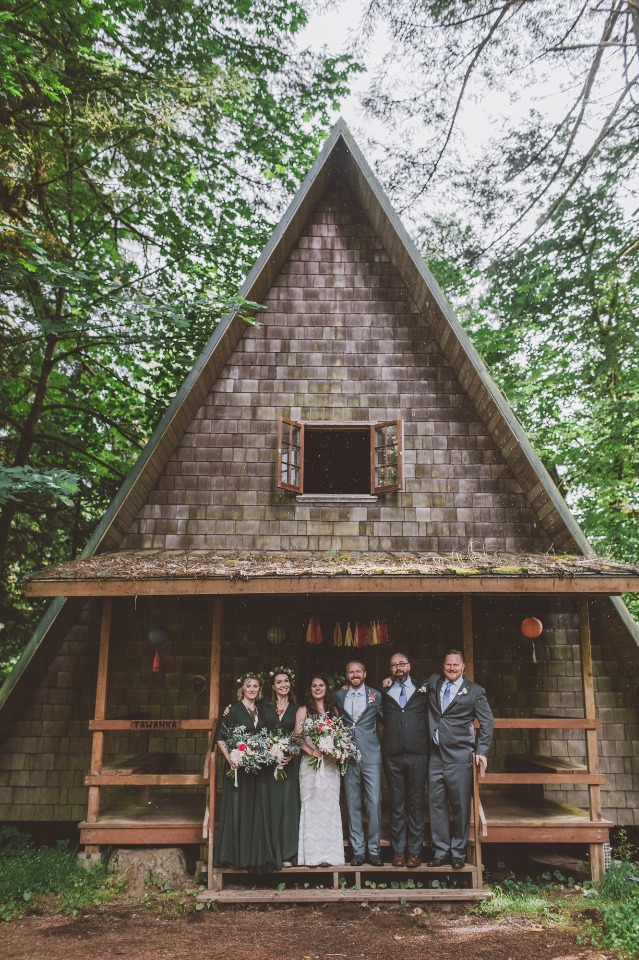 You're going to love this weekend wedding in the moutains