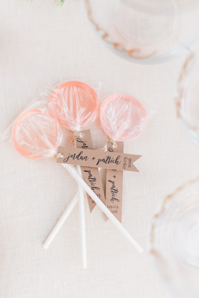 cute lolly pop favors