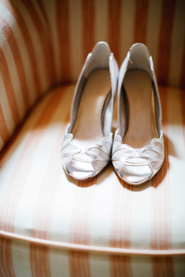 Cute wedding heels