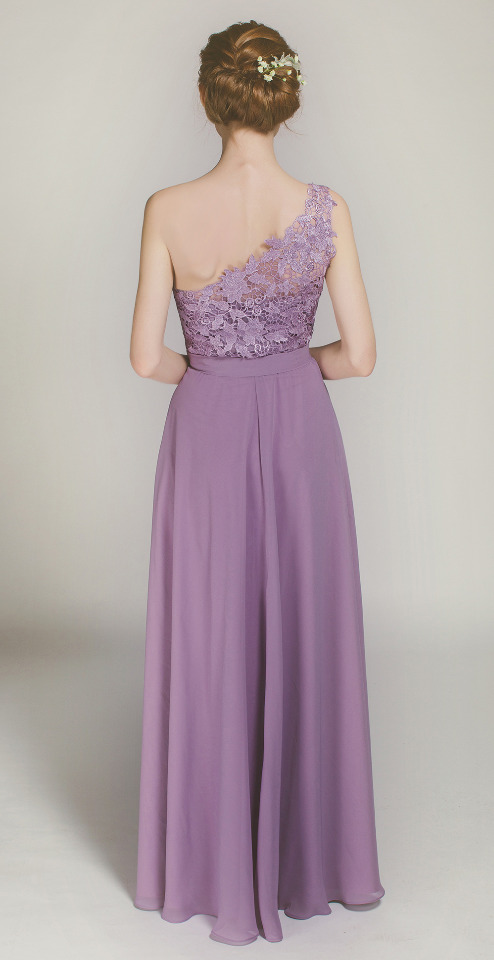 laser cut bridesmaid dress by Stylish Wedd