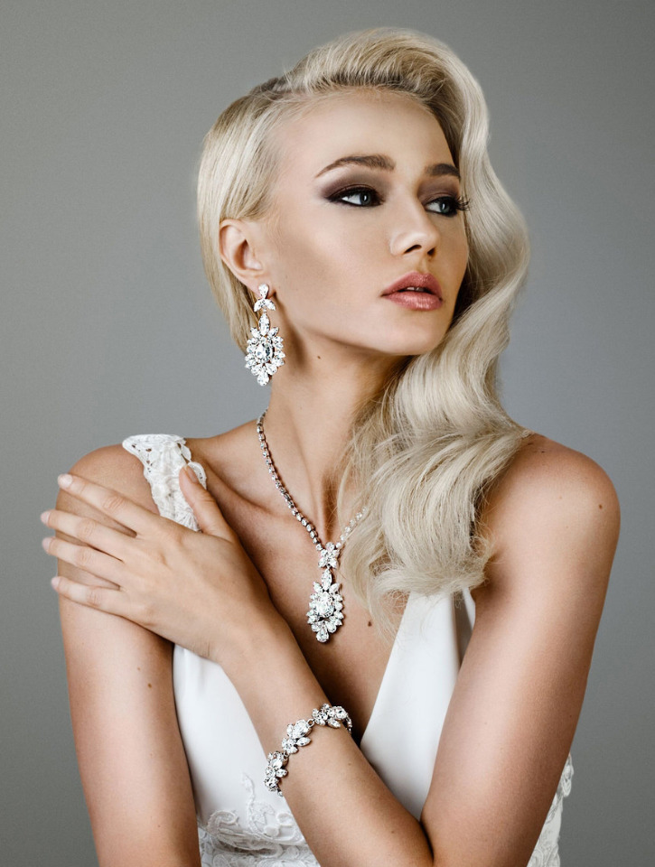 opulent wedding jewelry by Marlena Du Pelle