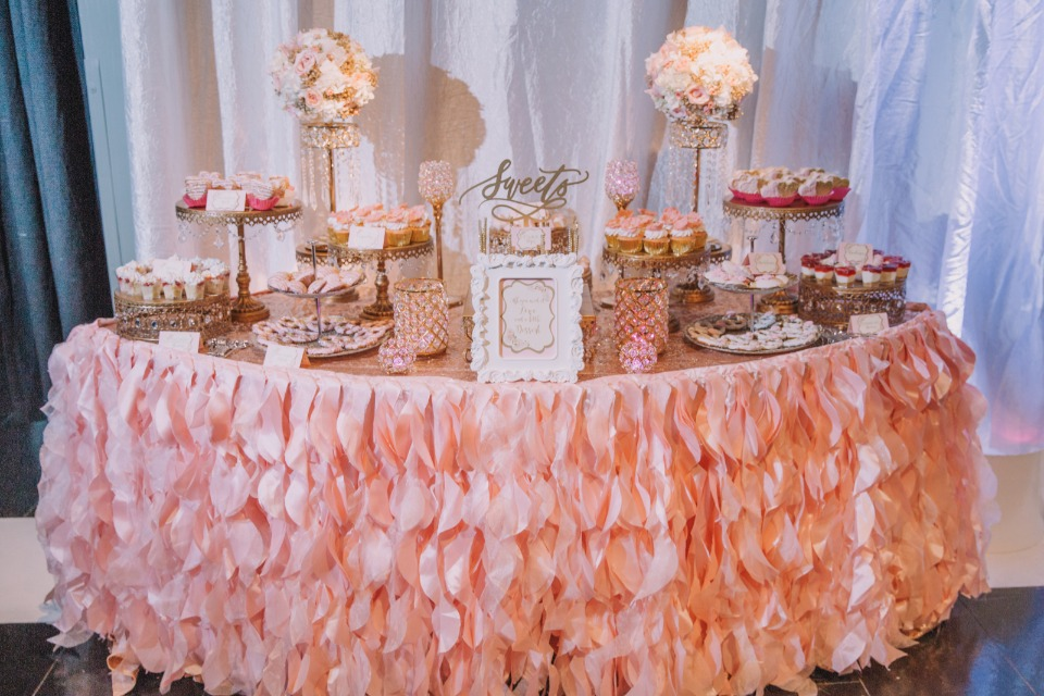 The sweetest dessert table