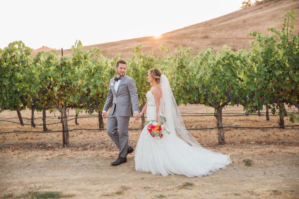 beautiful vineyard wedding venue