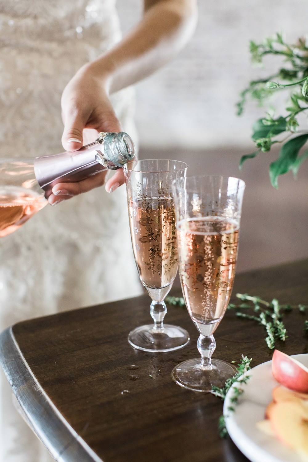 seductively smooth sparkling cocktail
