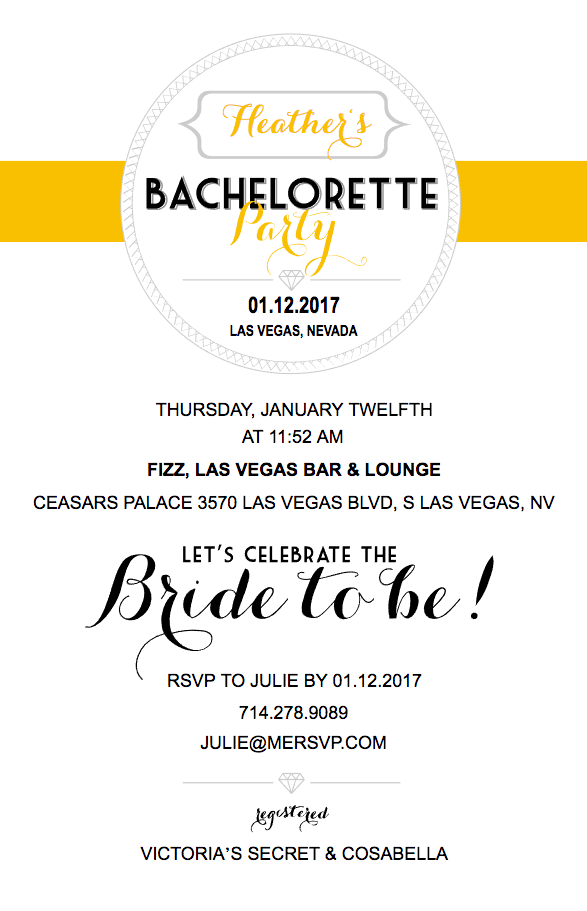 free custom bachelorette invite