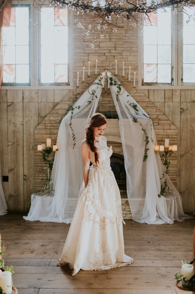 sweet chapel wedding ceremony