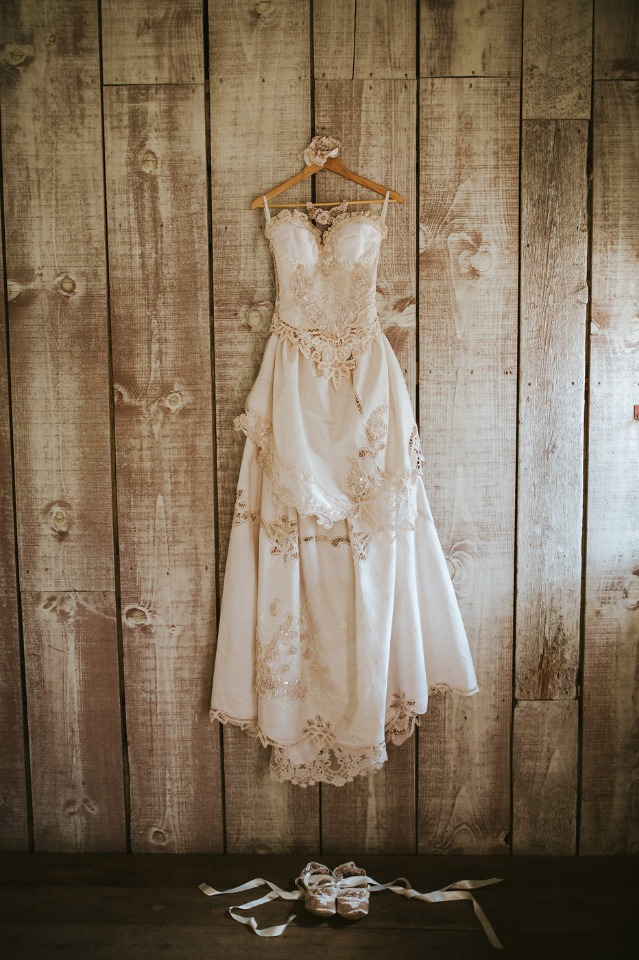 wedding dress by hopefully romantic