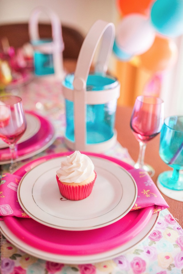 Bridal shower decor and goodies
