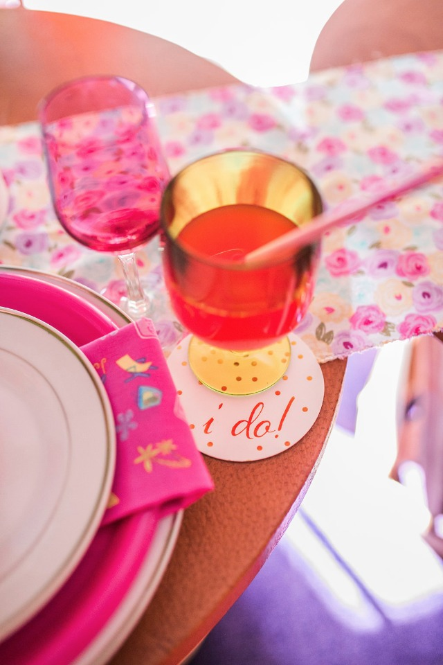 Cute bridal shower details