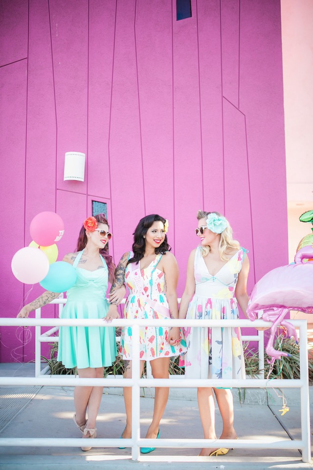 Chic pin-up bridal shower