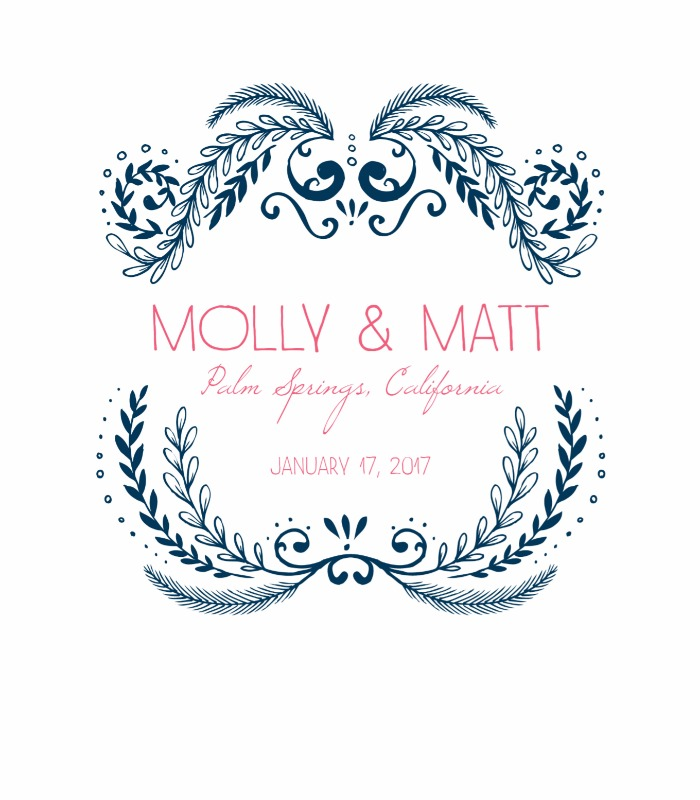 Print: Molly Save the Date