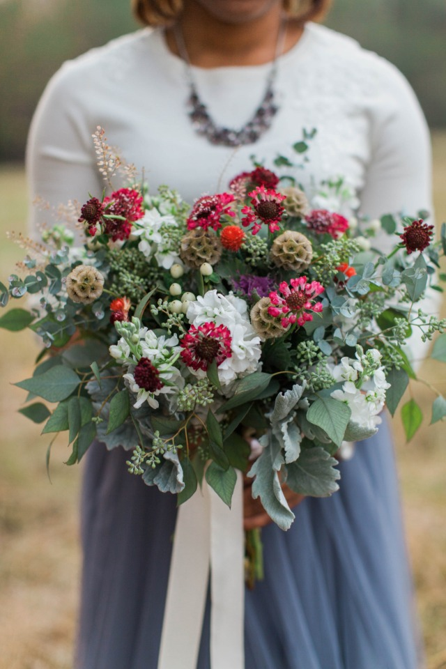 Gorgeous fall floral bouquet