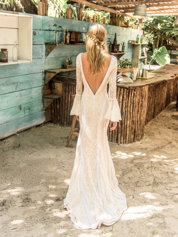 La Jolla Gown From Island Tribe