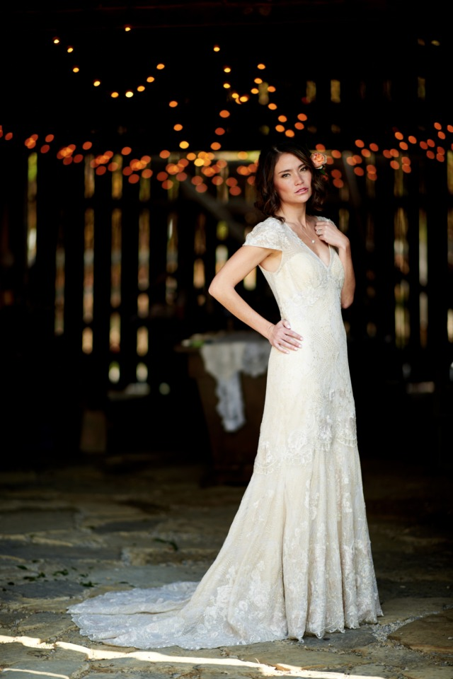 wedding dress from LUXEredux Bridal