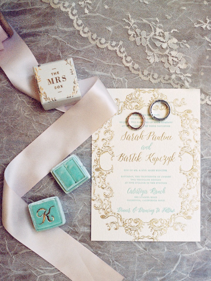 wedding stationery from Bluebird Paper Company