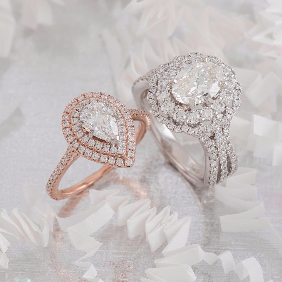 how to wear engagement ring and wedding ring