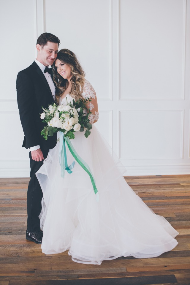 How sweet are these two newlyweds?!