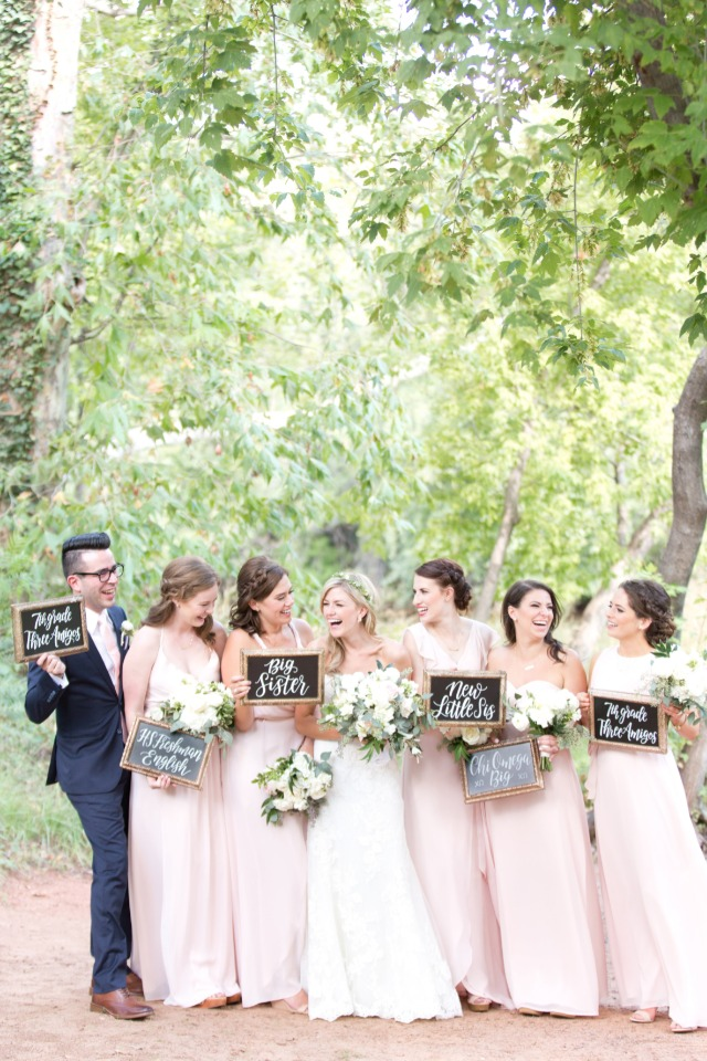 cute how I know the bride signs