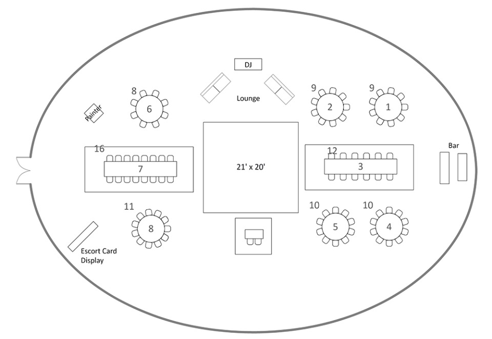 AllSeated Floor Plans