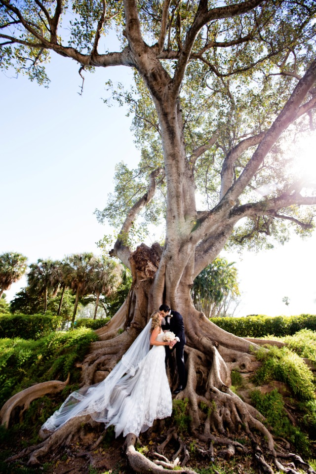 Stunning outdoor wedding