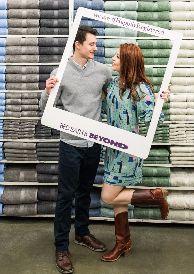 #happilyregistered with Bed Bath & Beyond