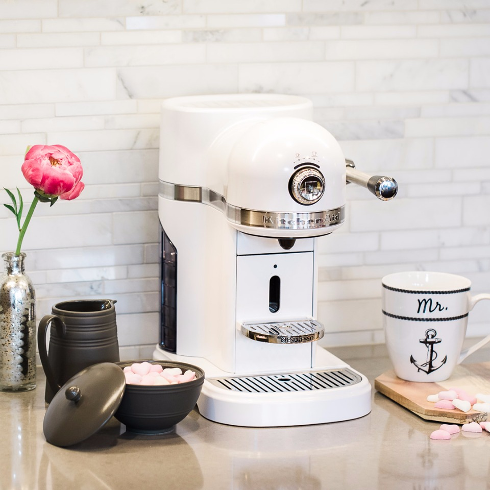 Wedding Registry must have  Nespresso KitchenAid Coffee Maker