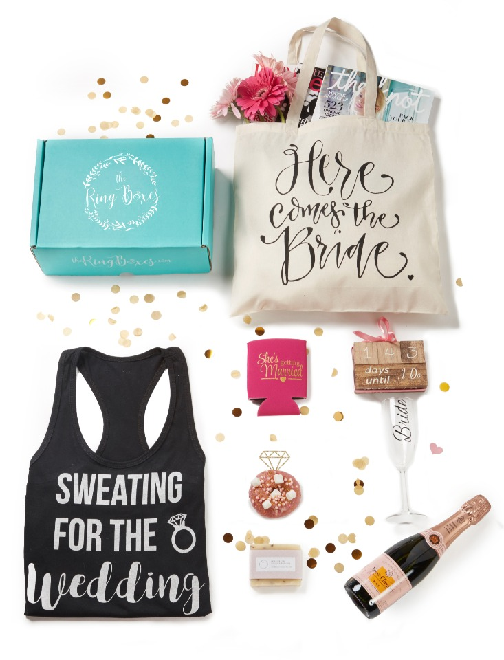 Surprise your bride-to-be with a subscription to The Ring Boxes