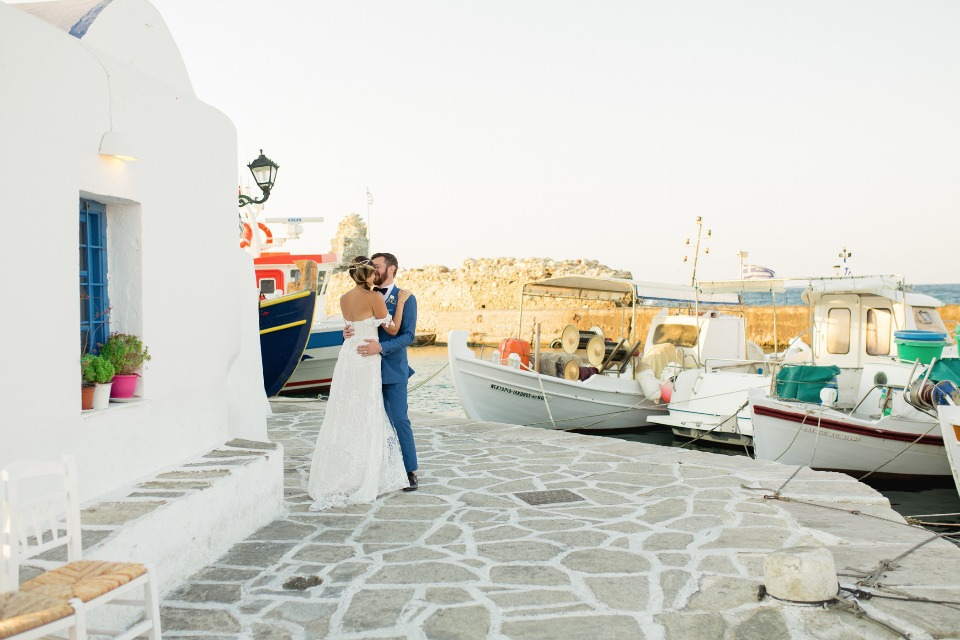 Stunning location in Greece for your I dos