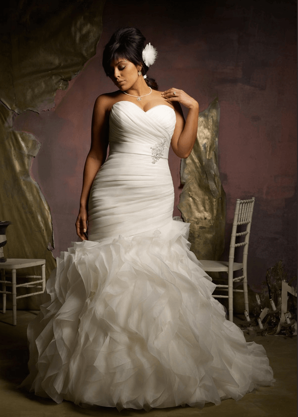 Mori Lee bridal mermaid wedding dress