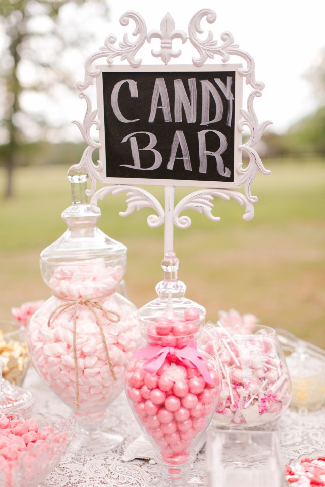 all pink candy bar