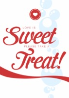 sweet treat sign
