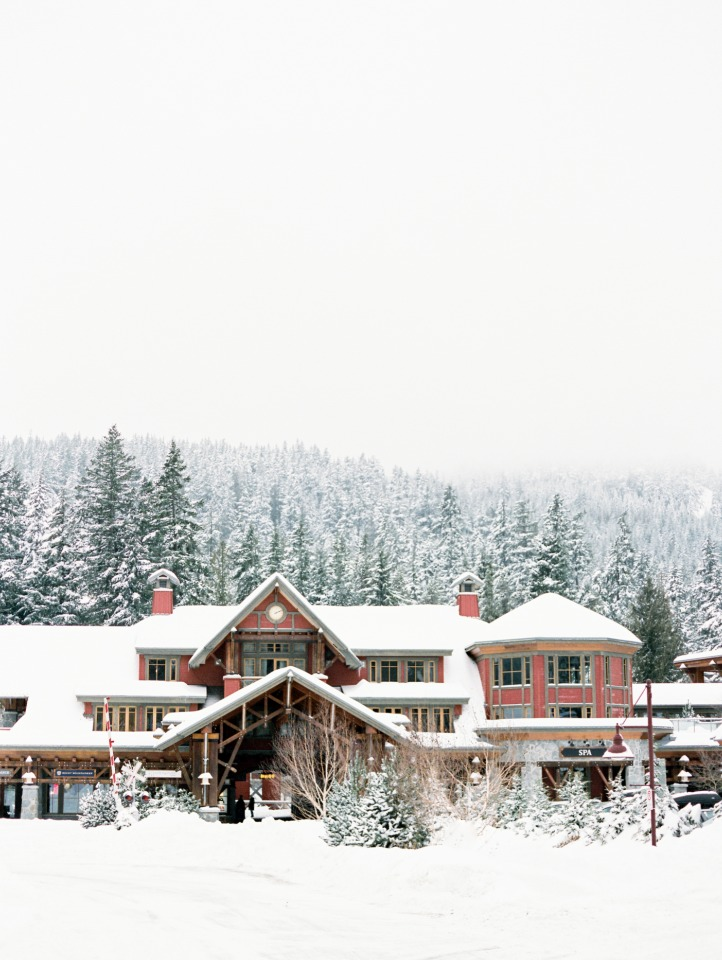 Winter wedding in Whistler, Canada